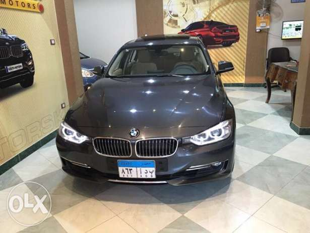 Bmw luxury 320 2015 14000km