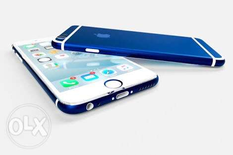 iphone 6 .. blue .. 16 giga