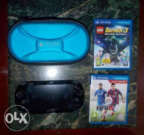 For Quick Sale PS Vita slim 2016 edition From Dubai with 2 Games