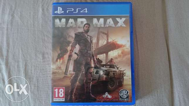 mad max ps4 game as new