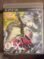 persona arena ps3 game