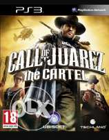 PS3 اسطوانهCall ofJuarez the cartel