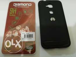 Huawei G8 Cover and Tempered glass Screen