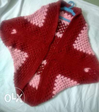 Square Cocoon Sweater crochet Hand Made شبرا -  3