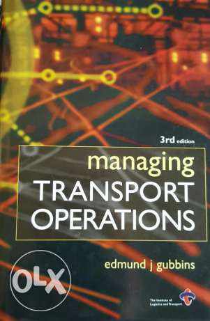 Managing transport operations 3rd edition