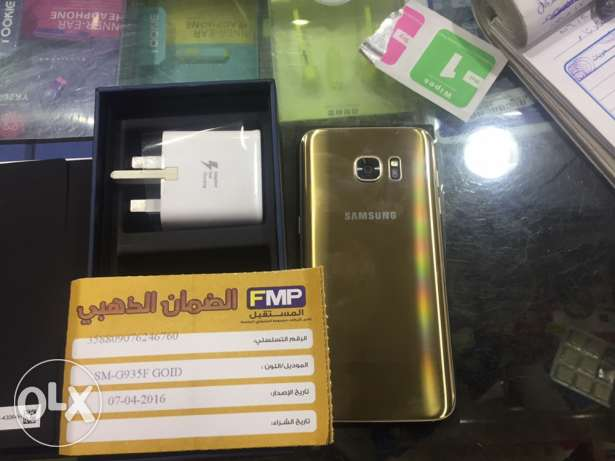 s7 edge 32g used only 4 one day عين شمس -  1