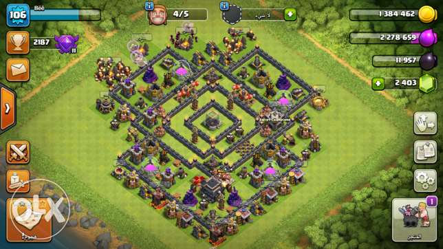 clash of clans acc (cocth9max)