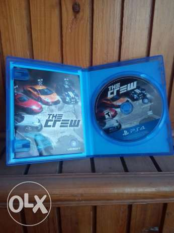 PS4 CD:The crew