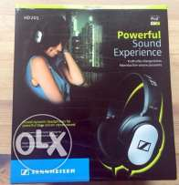 Sennheiser HD 201 Lightweight Over Ear Headphones **جديدة متبرشمة**