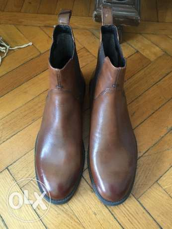 Vagabond original leather boots
