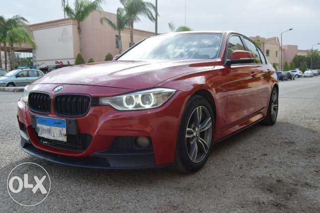 BMW 316 Red Original Xenon headlights and M performance kit