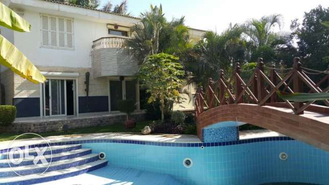 Villa for rent in Rabwah Furnished View Golf
