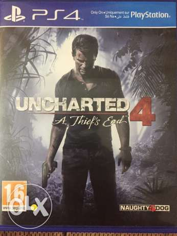 Uncharted 4 Arabic edition & Fifa 16 stander-like new(both together) 6 أكتوبر -  2