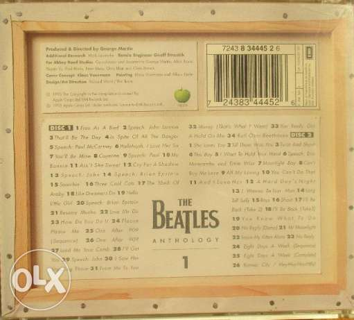 The Beatles (Anthology) part (1) 2CDS مصر الجديدة -  6