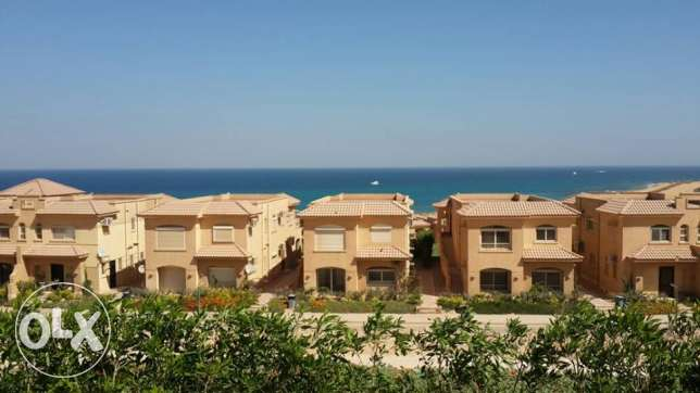 Twin House for sale in TELAL EL SOKHNA sea view fully finished