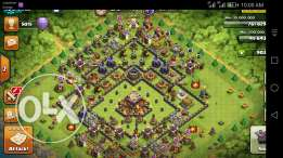 Clash of clans max town 11