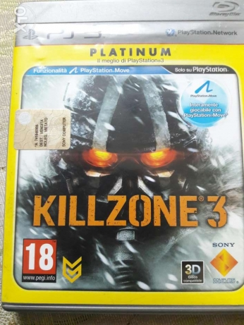 Kill zone 3 Ps3