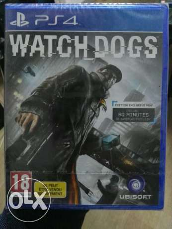 PlayStation 4 Game WATCH DOGS