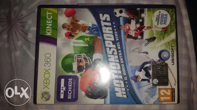 Xbox360 KINECT Motion Sports