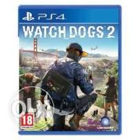 Watch dogs 2 CD for ps4