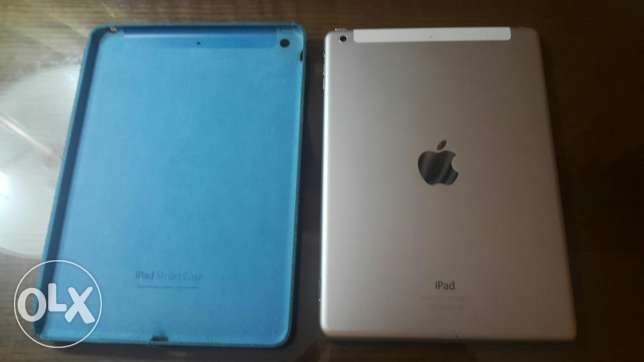 Apple Ipad Air 4G 16GB + Free original smart Case, Perfect Condition