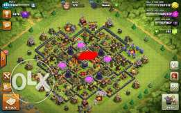 Clash of clans th 10 max كلاش اون كلان تاون 10 ماكس