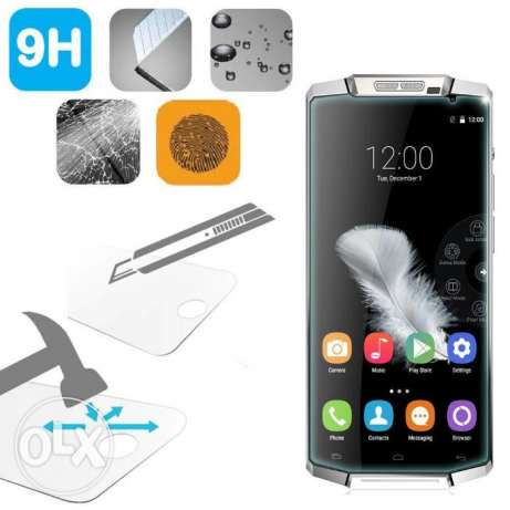 للبيع Genuine Premium Tempered Glass Screen Protector for Oukitel K100 الزيتون -  5