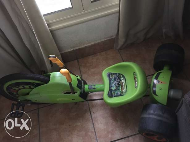 The Green Machine for kids age 7-11 girls and boys excellent condition