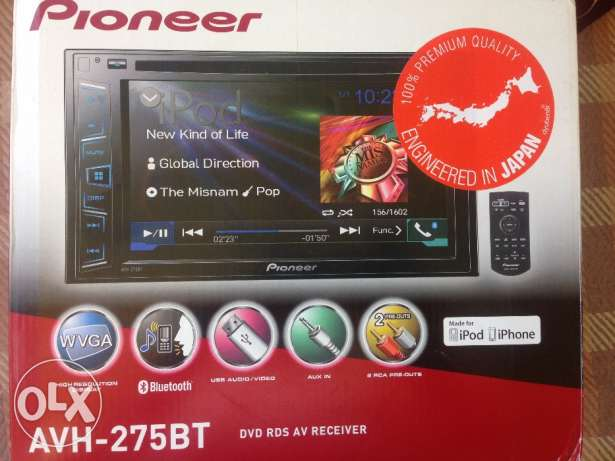 Original pioneer Cassette like new , imported from Dubai محطة الرمل -  2
