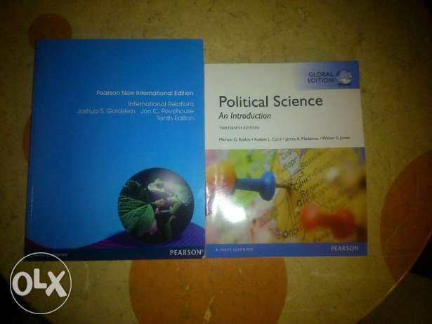 Political Science and International Relations books