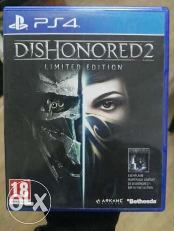 PlayStation 4 Game DIS HONORED 2