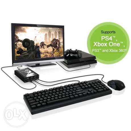 i'm looking adapter for keyboard and mouse PS4