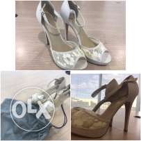 Original Call it Spring off white heels