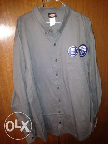 dickies grey shirt straight from USA size xxx