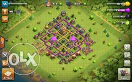 للبيع clash of clans account th7