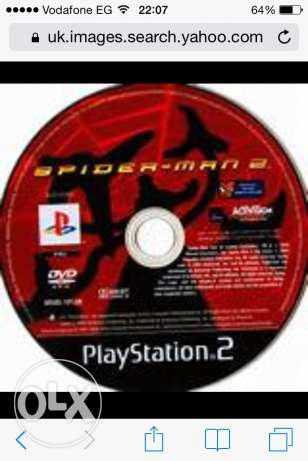 CD Spider-man 2 for playstation2 اصلي عجمي -  3
