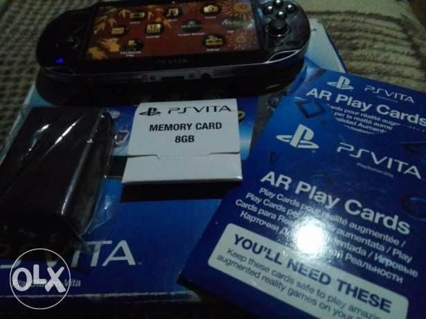 PS Vita + 8GB Memory + FIFA 15 - The Swapper الإسكندرية -  3