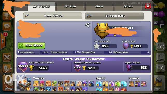 Clash of clans th 11 full max