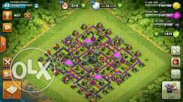 Clash of clans town9 lev88