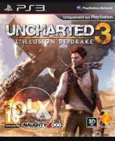 PS3 اسطوانه Uncharted 3