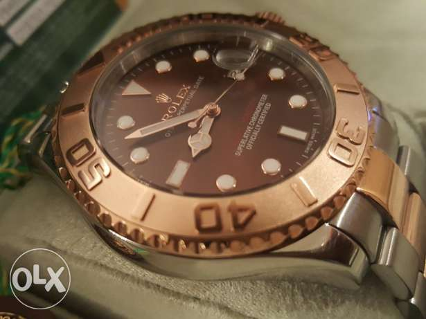 Rolex Yacht Master1 Rose-Gold first copy with box and Int. guarantee القاهرة -  2