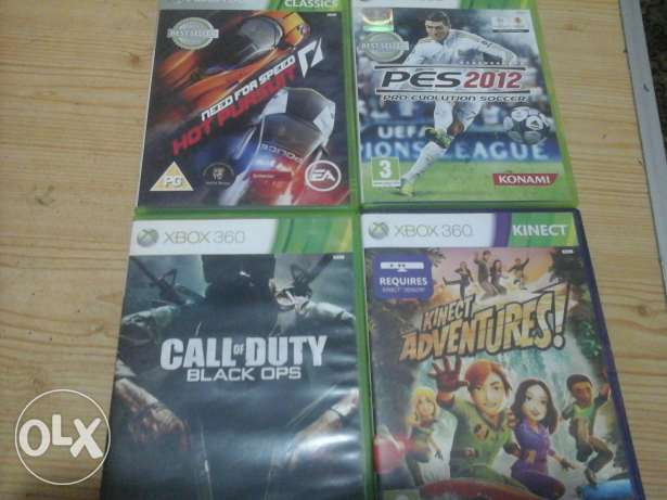 4 Games FOR 700 L.E ONLY!