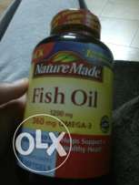 Fish oil supplement - Omega 3 - Nature Made.