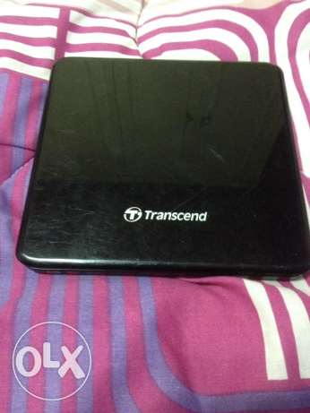 Transcend Portable External CD Reader For Laptops / PC's