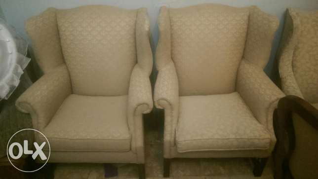 drexel heritage wingback chair