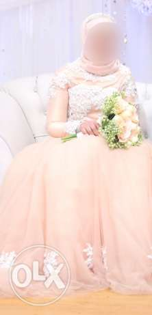 Engagement dress by Noural-ElSawaf designer 6500 from 9000 with gifts مدينة نصر -  7