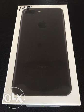 iPhone 7 Plus Sealed Black 128 GB LTE المهندسين -  1