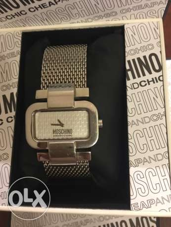 moschino watch for sale