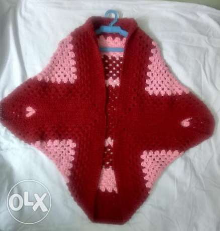Square Cocoon Sweater crochet Hand Made شبرا -  4