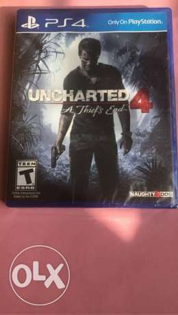uncharted 4 play station 4 NEW Sealed PS4